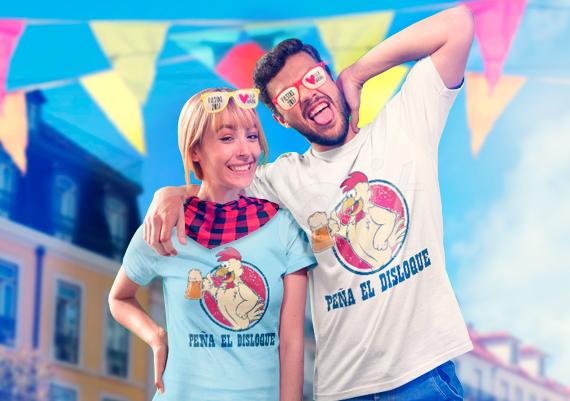 Camisetas para peña de fiestas de pueblos y otros regalos | Regalos para fiestas